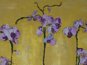3 Orchideen Detail