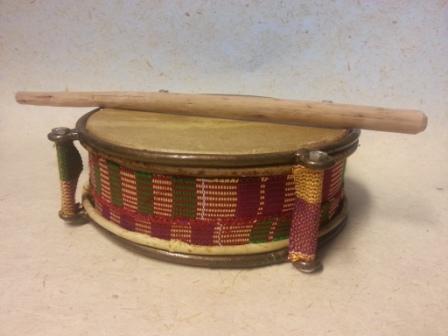 Tamburin aus Ghana