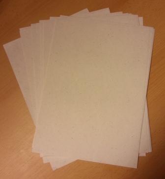 Bananenpapier – Druckpapier